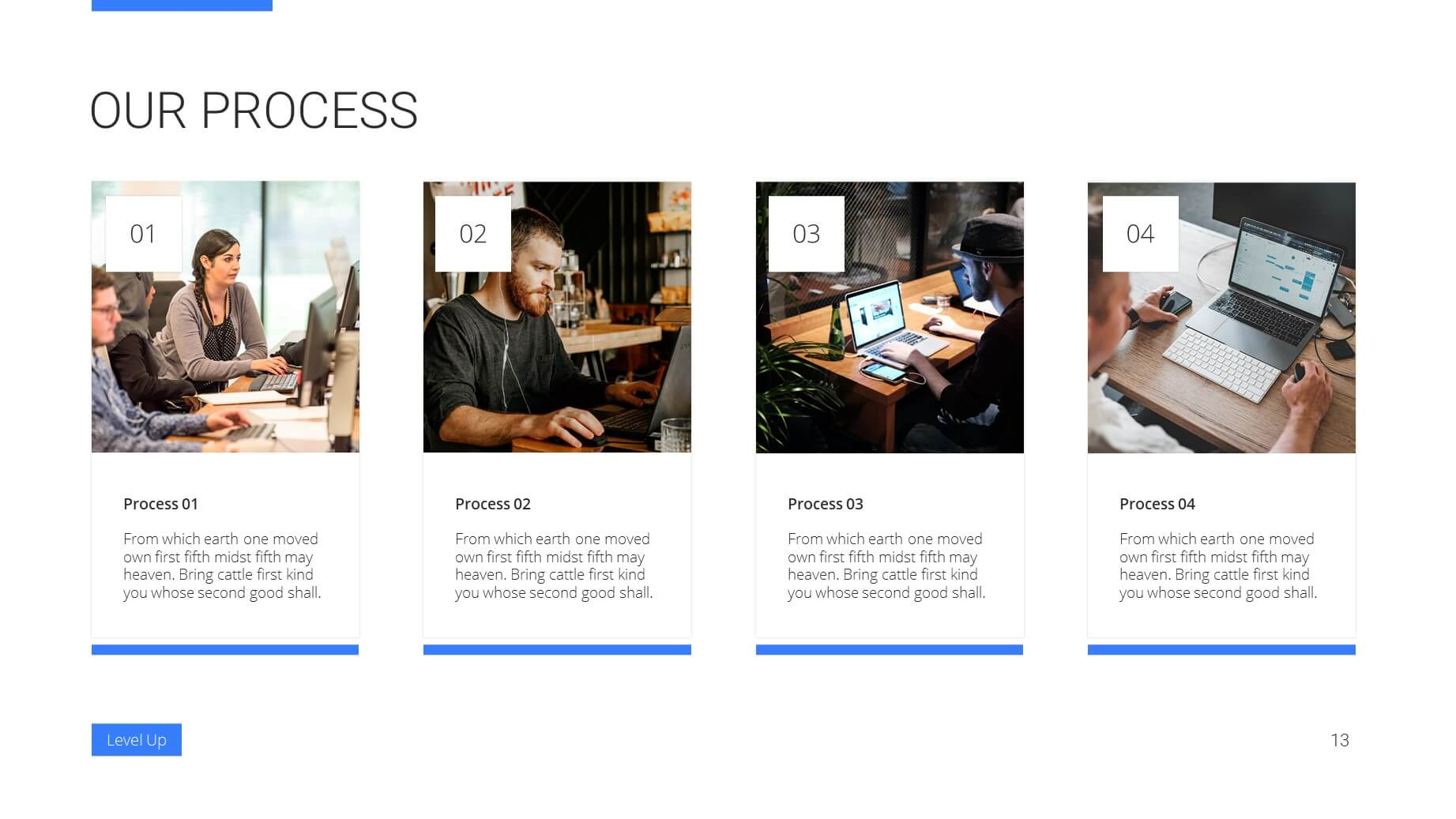 Level Up Business Presentation Template 12