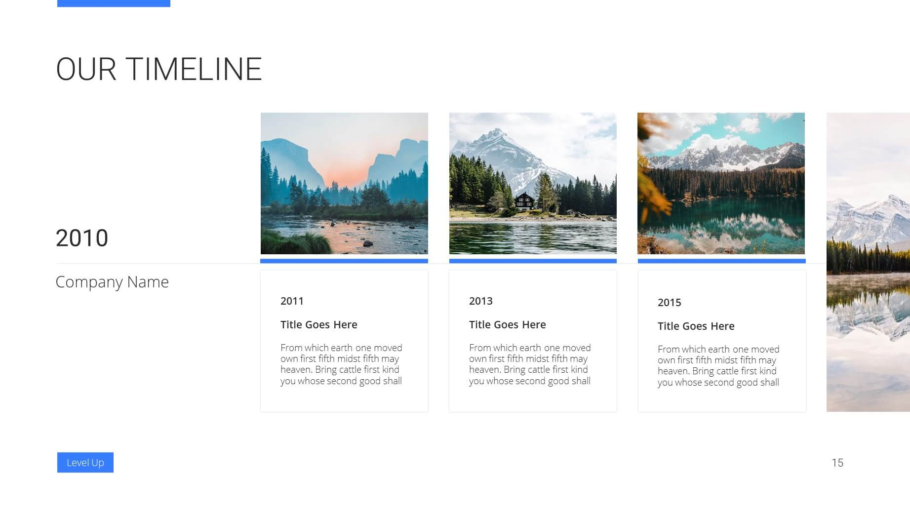 Level Up Business Presentation Template 14