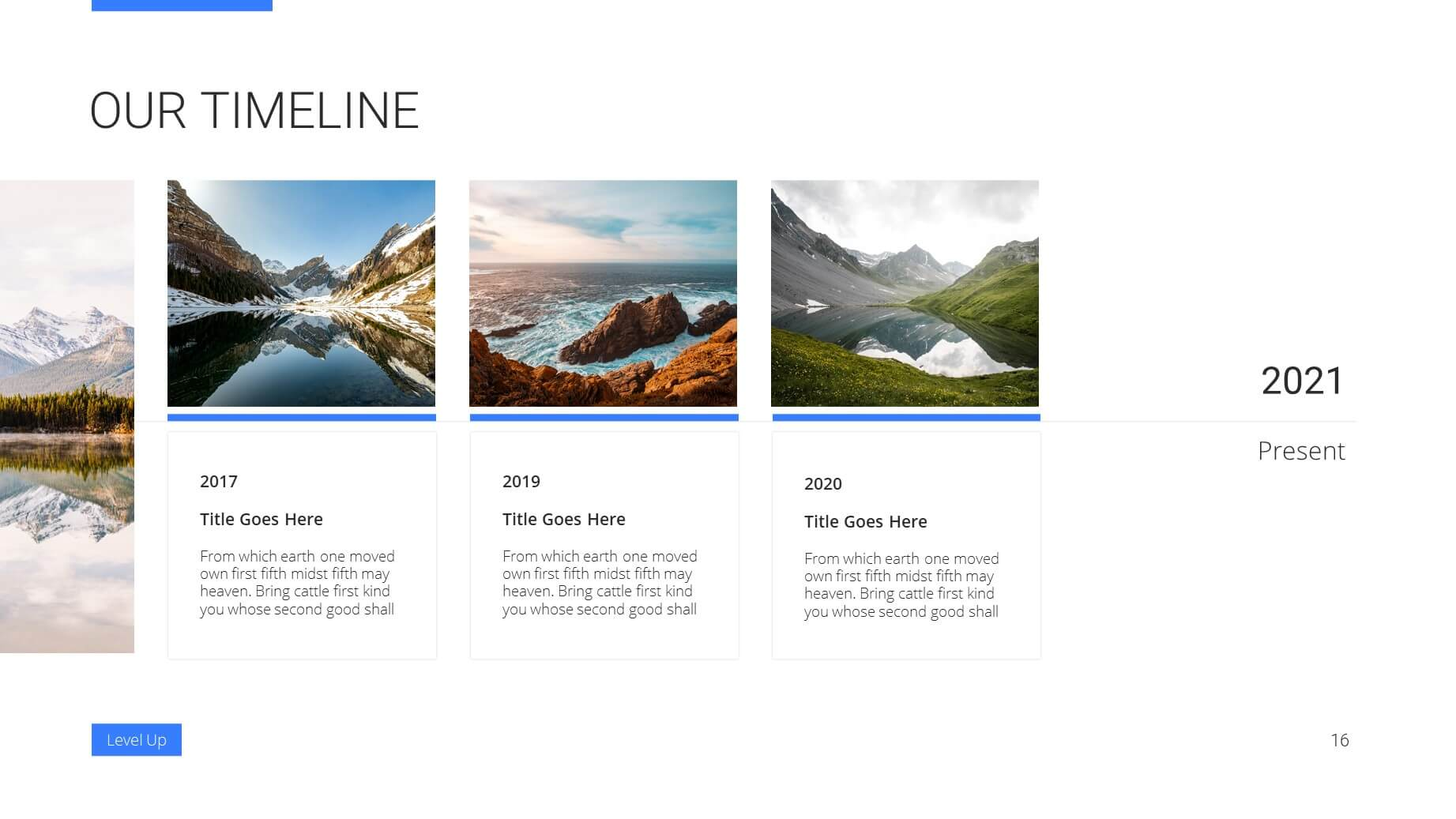 Level Up Business Presentation Template 15