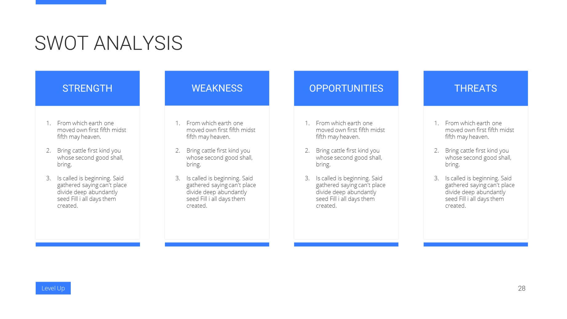 Level Up Business Presentation Template 27